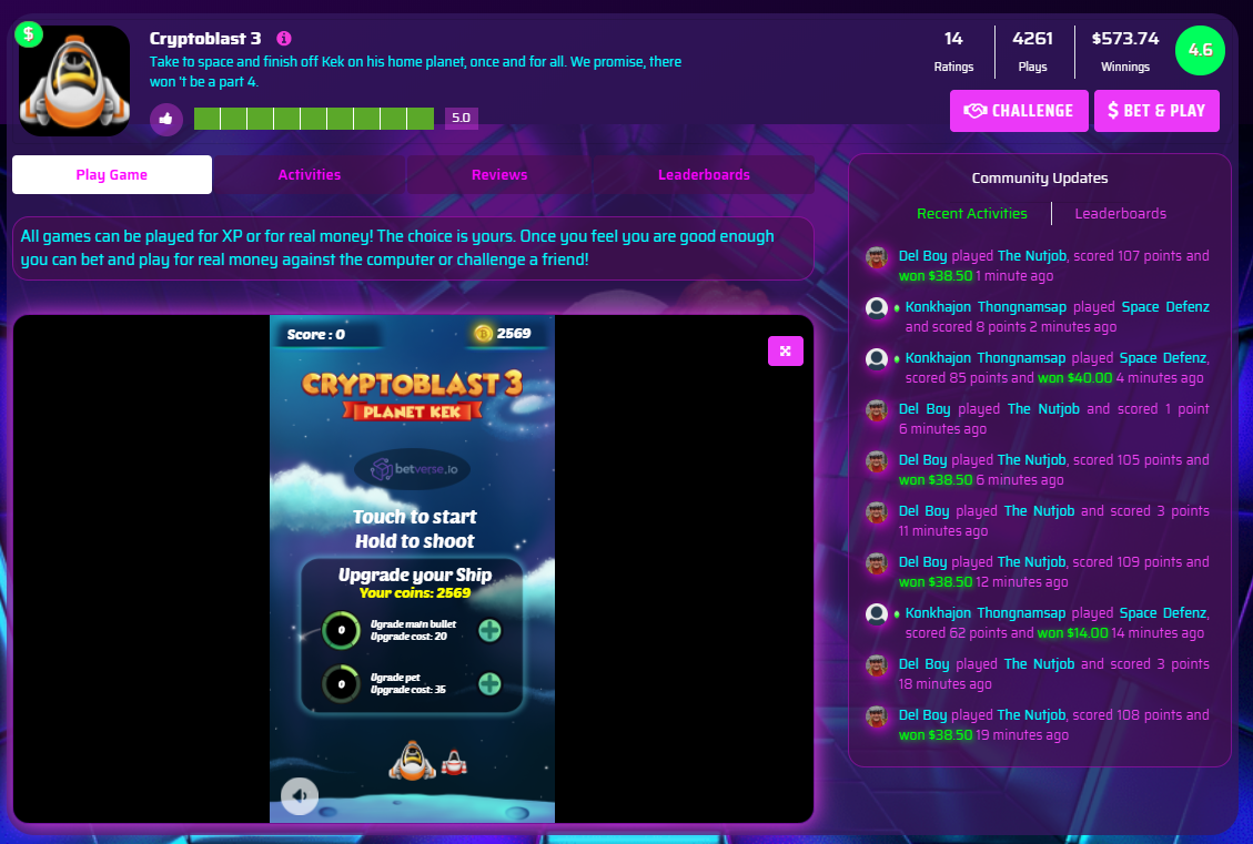 Make cash with Cryptoblast 3 (BV)